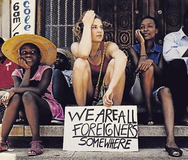 We're All Foreigners and We're AllMad.