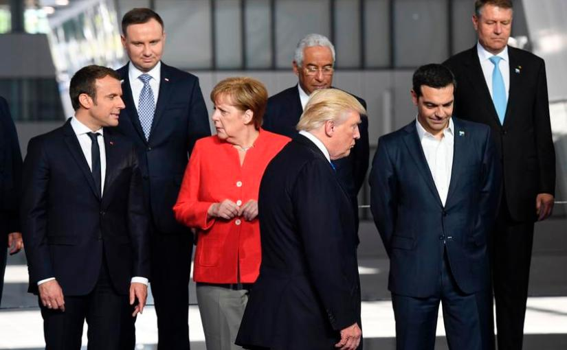 Is Donald Trump unintentionally promoting a liberal agenda InEurope?